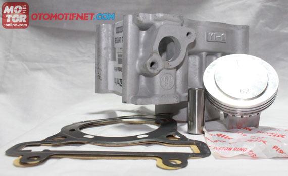 Paket Bore Up Jupiter MX, Liner Ceramic-Chrome Lebih Kuat