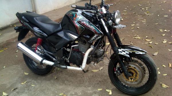 Modif Motor Honda Tiger Revo