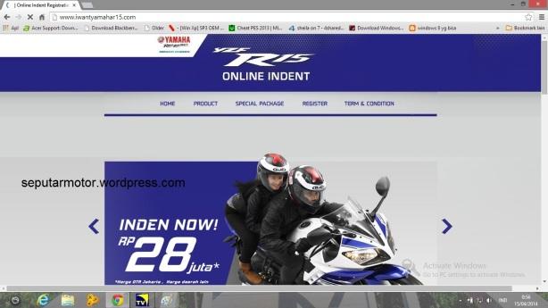 Halaman inden online R15